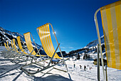 Empty Deck Chairs, Obertauern, Austria