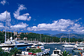 Yacht harbour, Porto Vecchio, Corsica, France