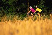 Biker, Leisure sport Odenwald, Germany