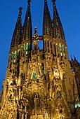 Sagrada Familia, Kirche, Barcelona-Katalonien Spanien