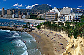 Playa Mal Pas, Benidorm, Provinz Alicante, Valencian Community, Spain