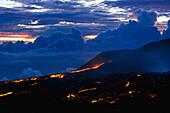 Lava fields, Piton Kapor, Enclos Foque, La Réunion, Indian Ocean