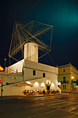 Bar Es Moli, Windmill bar, Placa de Ses Palmeres, Ciutadella, Minorca, Spain
