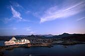 Ferryboat, L'lle Rousse, Corsica, France