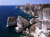 Bonifacio, Falaises, Kliff, Bonifacio Corsica, Korsika, Frankreich