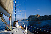 Sailing Trip near the coast of Cap Formentor, Mallorca, Spain