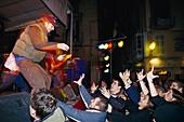 Concert in the old town, Nightlife, Placa Major, Palma de Mallorca, Mallorca, Spain