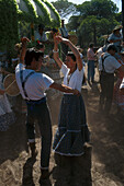 Flamenco, El Rocío, Pilgrimage Andalusia, Spain S. 134