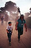 Pilgrims, El Rocío, Pilgrimage Andalusia, Spain S. 135