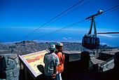 Cable Car, Teide 3718 m, Parque Nacional del Teide, Tenerife, Canary Islands, Spain