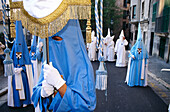 Procession of Penitents, Semana Santa, Holy Week, Palma de Mallorca, Mallorca, Majorca, Balearic Islands, Spain