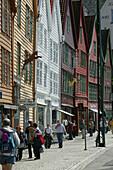 Brygge Bergen, Norway, Trade Houses, Bryyge, Bergen, Hordaland, Norway