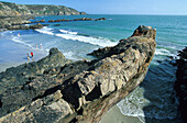 Petit Bot Bay, St. Martin, Guernsey, Channel Islands, Great Britain