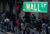 Boerse, Wallstreet, Manhattan, New York, USA Amerika