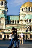 Alexander Nevsky Cathedral, Sofia Bulgaria