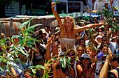 People celebrating la Fiesta de La Rama, festival, celebration, Fiesta, Gran Canaria, Canary Islands, Spain