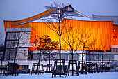 Philharmonics at wintertime, Berlin, Germany