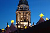 Christmas time, gendarmenmarkt, berlin, germany