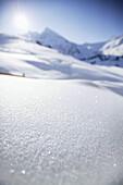 Fresh snow, Kuhtai, Tyrol, Austria