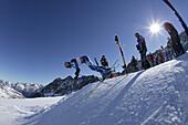 Race training, national skiing A-teams, internationales Renntraining der A-Mannschaften Riesenslalom Herren aus N, A, D, LIE, USA Rettenbachferners, Soelden, Oetztal, Austria Soelden, Oetztal, Oesterreich