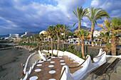 Strand, Playa de las Americas, Teneriffa Kanarische Inseln, Spanien