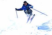 Carving-Skitest, Buckelpiste, Obergurgl, Oetztal Sports
