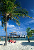 Bootssteg des Brac Reef Resort, Cayman Brac Cayman Islands, Karibik
