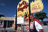 Ivan Farrington, The Devil´s Hangout, Hell, Grand Cayman Cayman Islands, Karibik