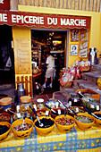 Feinkostgeschaeft, St. Tropez, Cote d´Azur, Var Provence, Frankreich