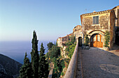 House at mountain village Eze, Cote d´Azur, Alpes Maritimes, Provence, France, Europe