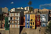 Altstadt, Villajoyosa, Provinz Alicante, Com. Valencia Spanien, Europa