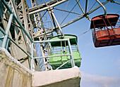 Ferris wheel in Gorki Park, Moscow Russia