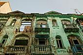 colonial Architecture, Yangon, Myanmar