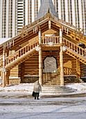 Wooden house, Izmailovski park Moscow