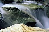 Waterfall, Routeburn Track, Mount Aspiring National Park