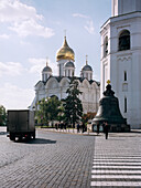 The Tsar bell at Cathedral Square at Kremlin Moscow, Moscow, Russia