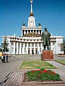 Lenin Statue, All-Russian Exhibition Centre, Moscow, Russia