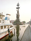 Peter the Great Statue, Moskva river, Moscow, Russia