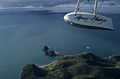 Aerial Bay of Insel, waterplane, Bay of many green Insel bays and beaches, scenic flight, malerische Buchten zahlreiche Inseln, Aqua Vinatge Flights, Luftaufnahme, aerial