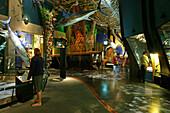 Te Papa Tongarewa, Te Papa (the place of treasures of this land in Maori), national museum of New Zealand, capital, Wellington, North Island, New Zealand