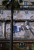 Storefront of Diocletian´s Palace, Split, Dalmatia Croatia