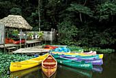 Boats, Laguna de Catemaco, Veracruz Mexico
