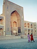 Mosque in Bukhara, Silk Road, Uzbekistan