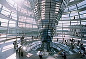 Glass cupola of the Reichstag, Sir Norman Foster Berlin