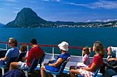 Boat Trip, Monte San Salvatore, Lago di Lugano, Tessin Switzerland
