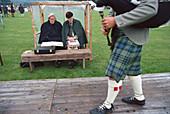 Highland Gathering, Strathdon, Grampian Scotland