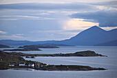Applecross Peninsula, View to Skye Highland, Scotland