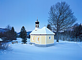 Chapel near Kruen, Upper Bavaria, Germany