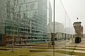 German Constitution on glass Paul Löbe Haus, Berlin, Germany