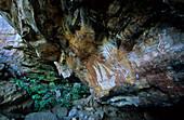 Northern Territory, Aboriginal rock art galleries, Davidson Arnhemland Safaris, Mount Borradaile, contact period, painting of an early boat